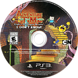 Adventure Time: Explore the Dungeon Because I DON'T KNOW! PS3 disc (BLUS31214)