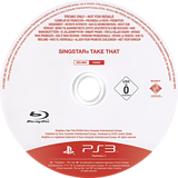 SingStar: Take That PS3 disc (BCES00607)