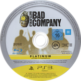 Battlefield: Bad Company PS3 disc (BLES00259)
