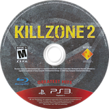 Killzone 2 PS3 disc (BCUS98116)