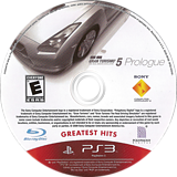 Gran Turismo 5: Prologue PS3 disc (BCUS98158)