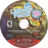 LittleBigPlanet (Game of the Year Edition) PS3 disc (BCUS98208)
