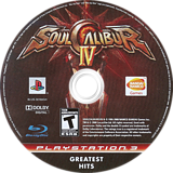 Soul Calibur IV PS3 disc (BLUS30160)