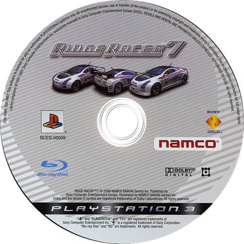 Ridge Racer 7 Array discM (BCES00009)