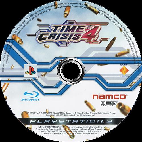 Time Crisis 4 PS3 discM (BCES00057)
