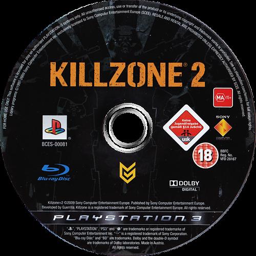 Killzone 2 PS3 discM (BCES00081)