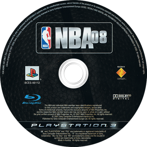 NBA 08 Array discM (BCES00112)