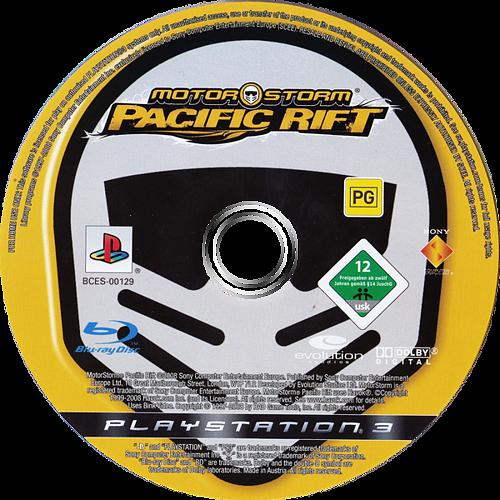 MotorStorm: Pacific Rift PS3 discM (BCES00129)