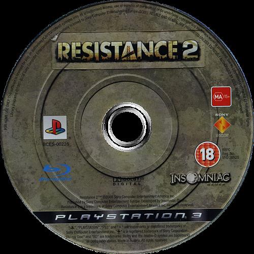 Resistance 2 PS3 discM (BCES00226)