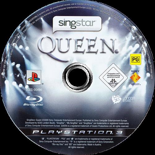 SingStar: Queen PS3 discM (BCES00494)
