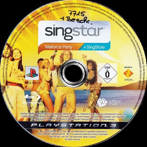 SingStar: Mallorca Party PS3 discM (BCES00519)