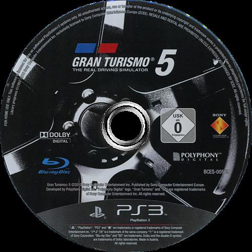 Gran Turismo 5 PS3 discM (BCES00569)