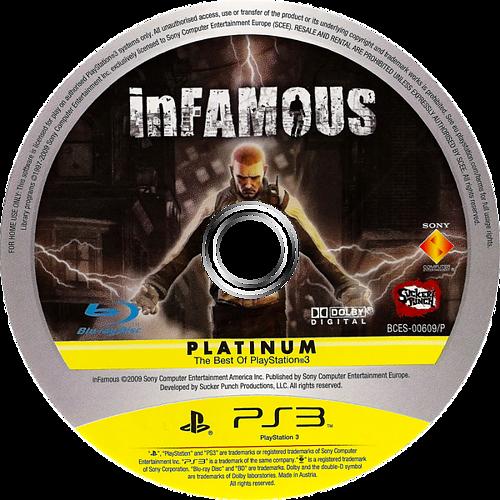 inFamous PS3 discM (BCES00609)