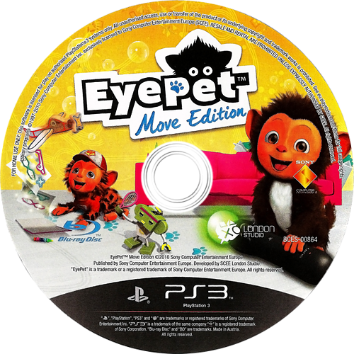 EyePet Move Edition PS3 discM (BCES00864)