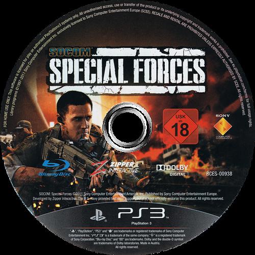 SOCOM: Special Forces PS3 discM (BCES00938)