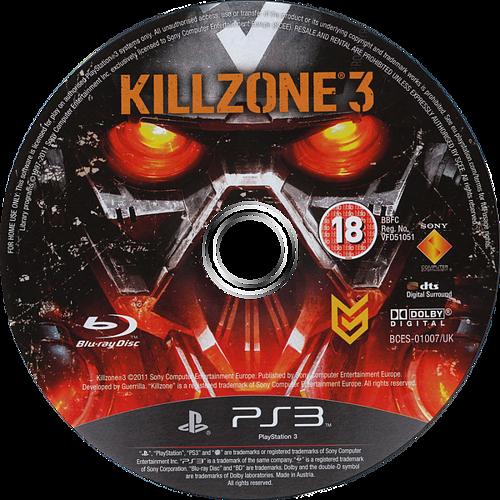 Killzone 3 PS3 discM (BCES01007)