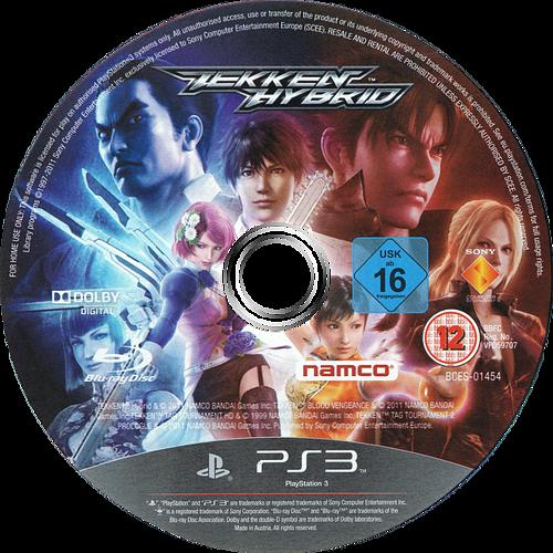 Tekken Hybrid PS3 discM (BCES01454)