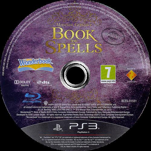 Wonderbook: Book of Spells PS3 discM (BCES01531)