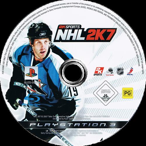 NHL 2K7 PS3 discM (BLES00033)