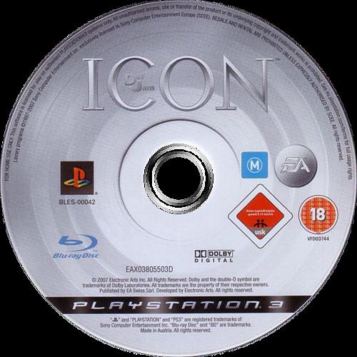 Def Jam: Icon PS3 discM (BLES00042)