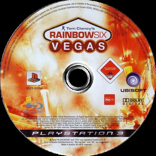 Tom Clancy's Rainbow Six: Vegas PS3 discM (BLES00054)