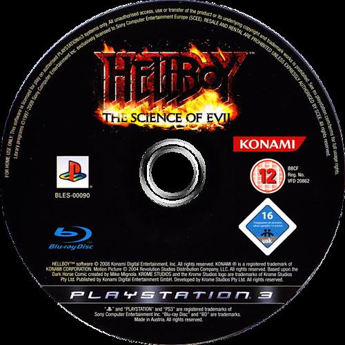 Hellboy: Science of Evil PS3 discM (BLES00090)