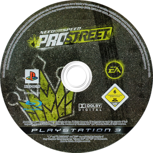 Need for Speed: ProStreet PS3 discM (BLES00176)