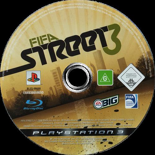 FIFA Street 3 PS3 discM (BLES00188)