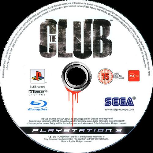 The Club PS3 discM (BLES00192)