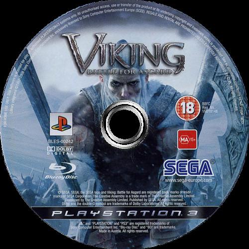 Viking: Battle for Asgard PS3 discM (BLES00242)