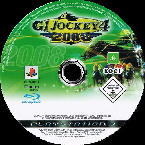G1 Jockey 4 2008 PS3 discM (BLES00271)