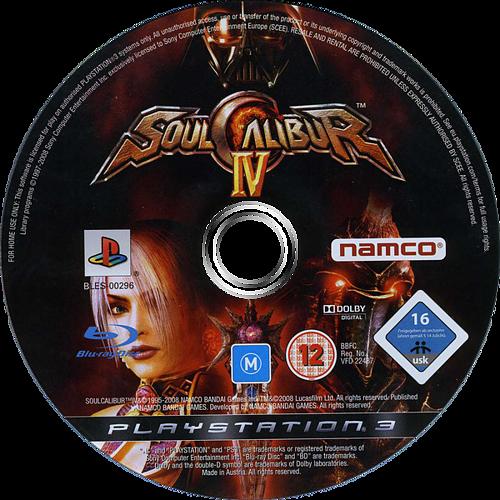 SoulCalibur IV PS3 discM (BLES00296)