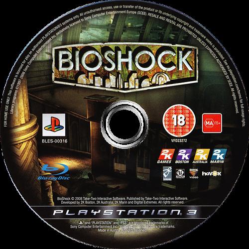 BioShock: Ultimate Rapture Edition PS3 discM (BLES00316)