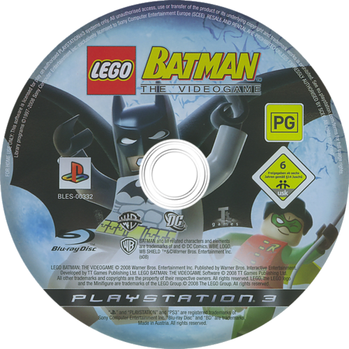 LEGO Batman: The Videogame PS3 discM (BLES00332)