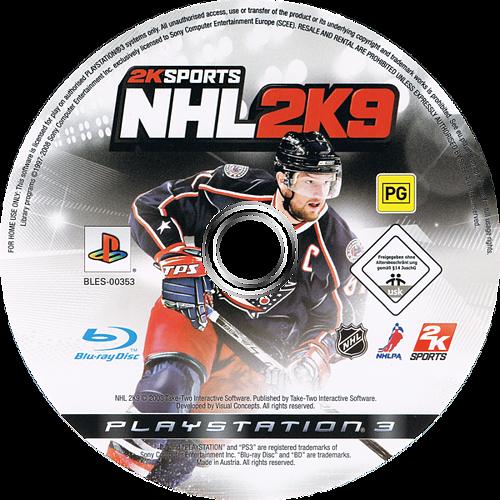 NHL 2K9 PS3 discM (BLES00353)