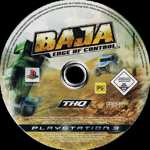 Baja: Edge of Control PS3 discM (BLES00359)