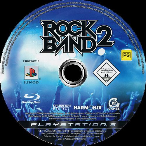 Rock Band 2 PS3 discM (BLES00385)
