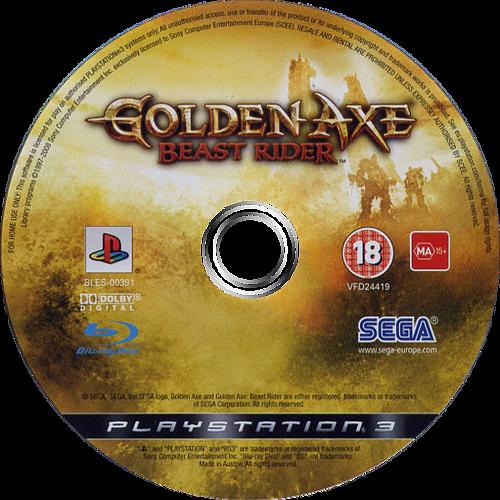 Golden Axe: Beast Rider PS3 discM (BLES00391)