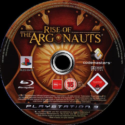 Rise of the Argonauts PS3 discM (BLES00418)