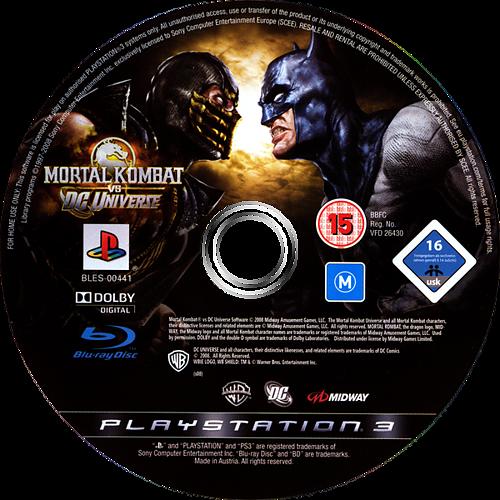Mortal Kombat vs. DC Universe PS3 discM (BLES00441)