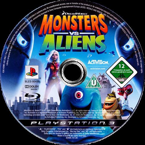Dreamworks Monsters vs. Aliens PS3 discM (BLES00490)