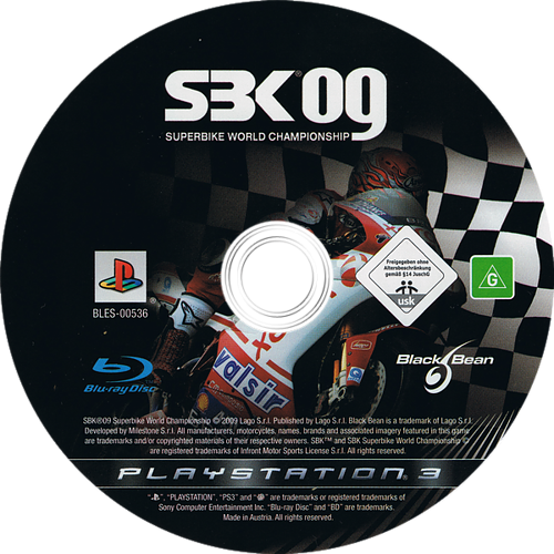 SBK-09 Superbike World Championship Array discM (BLES00536)