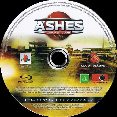 Ashes Cricket 2009 PS3 discM (BLES00639)