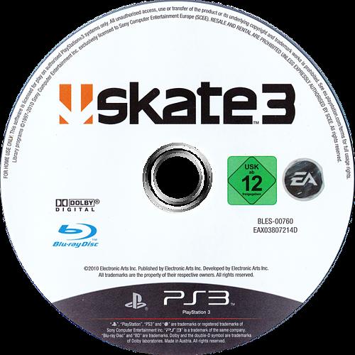 Skate 3 PS3 discM (BLES00760)
