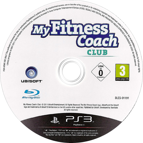 My Fitness Coach - Club PS3 discM (BLES01191)