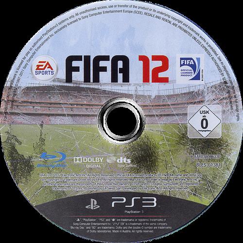 FIFA 12 PS3 discM (BLES01381)