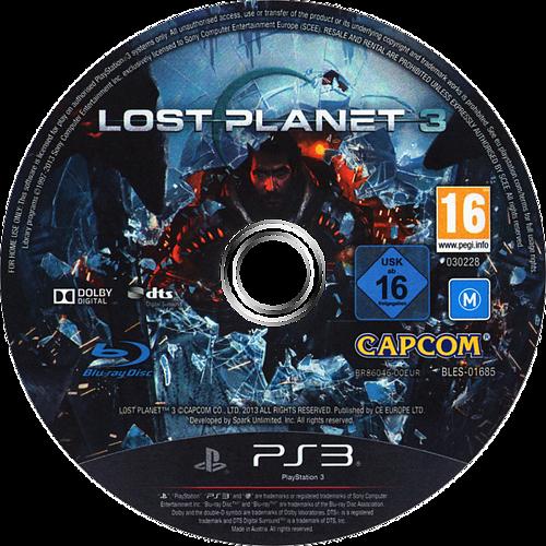 Lost Planet 3 PS3 discM (BLES01685)