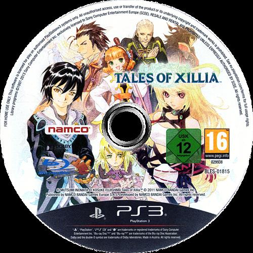 Tales of Xillia PS3 discM (BLES01815)
