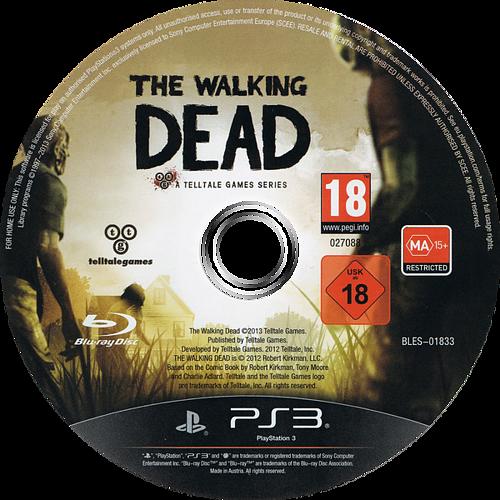 The Walking Dead: A Telltale Games Series PS3 discM (BLES01833)