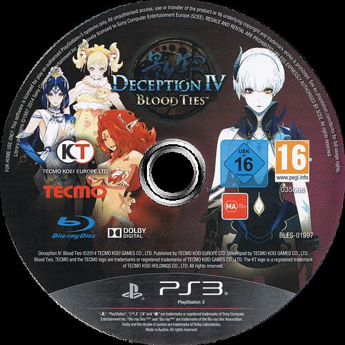 Deception IV: Blood Ties Array discM (BLES01997)